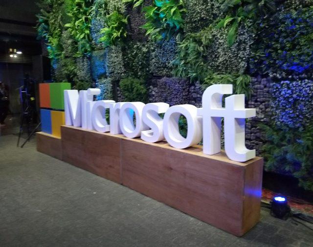 Estuvimos en evento de Microsoft.