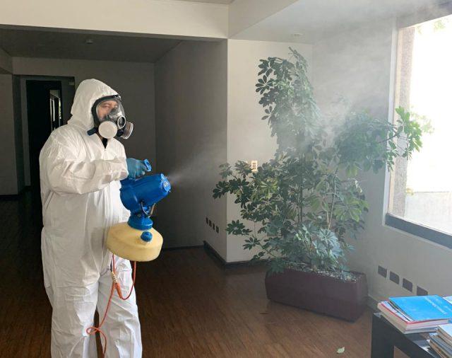 Plan de mitigación del Coronavirus en oficinas Servibanca
