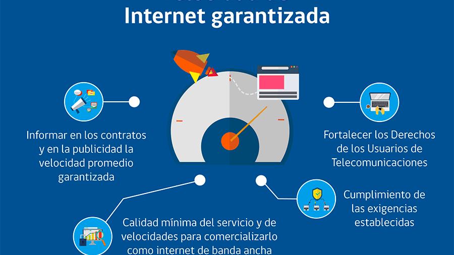 Ley garantizará velocidad de navegación ofrecida por proveedores de internet