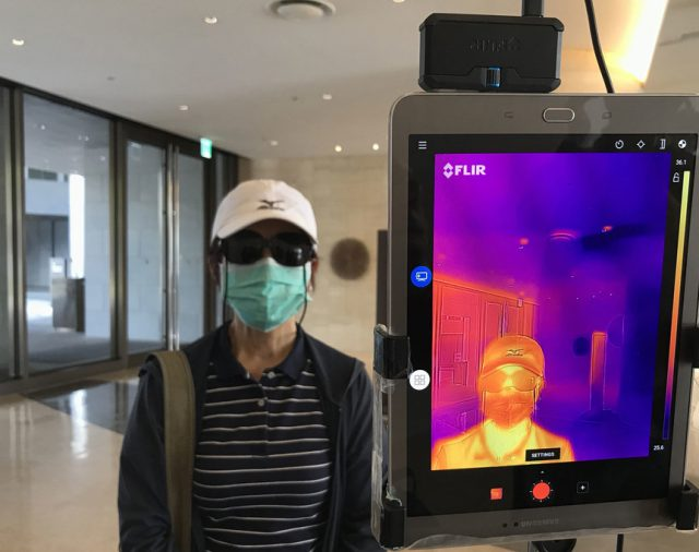 Diferentes tecnologías para regresar al trabajo post pandemia.